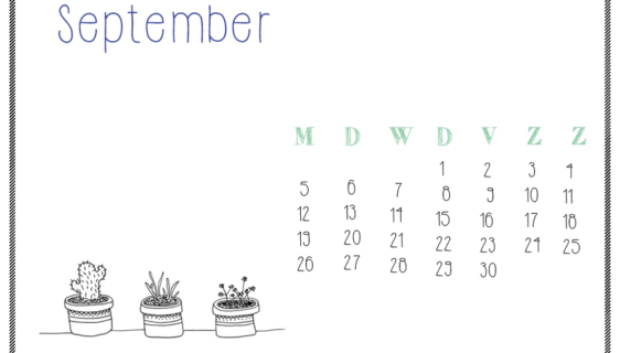 kalender September