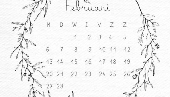 februari kalender